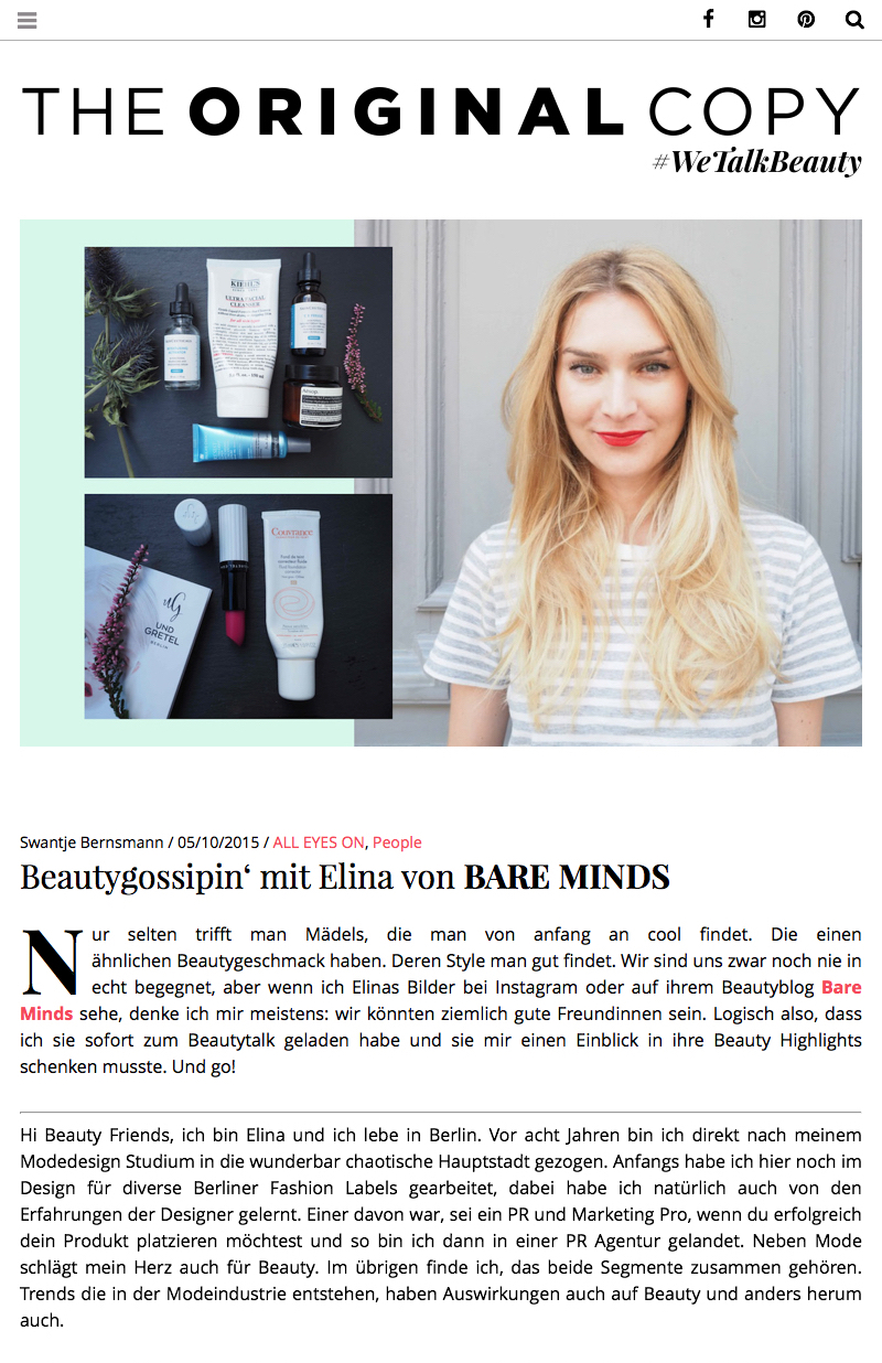 bare minds, beautyblog, beauty, blog, Kosmetik