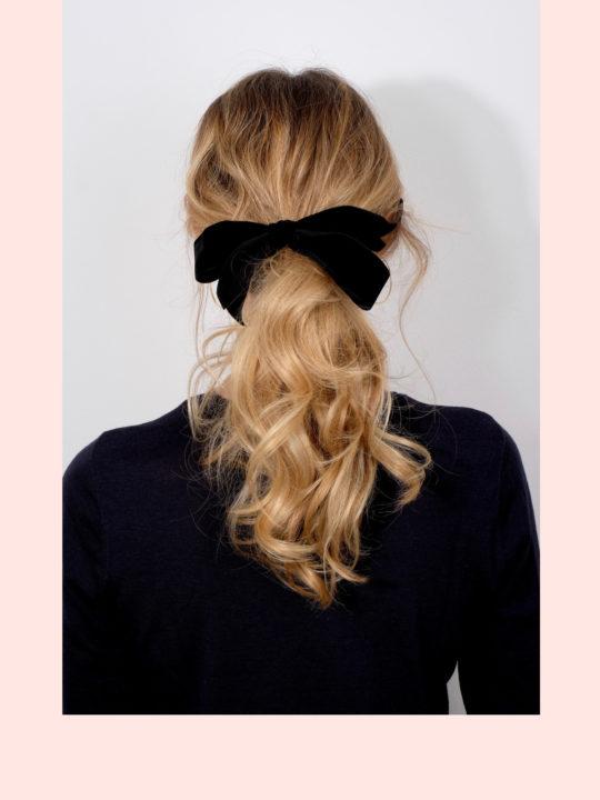 Beautyblog Beautyblogger BARE MINDS Elina Neumann Silvester Firsur mit Schleife 1.1