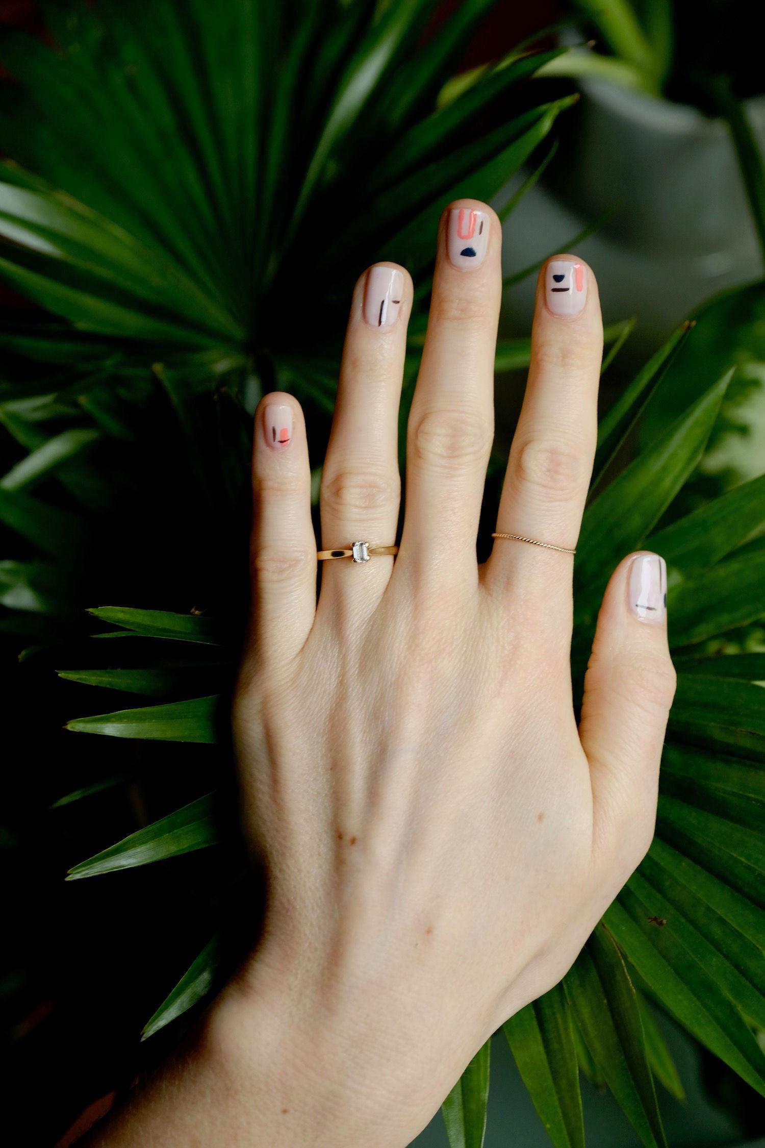 Beautyblog Beautyblogger BARE MINDS Elina Neumann arty Nailart Miro 1