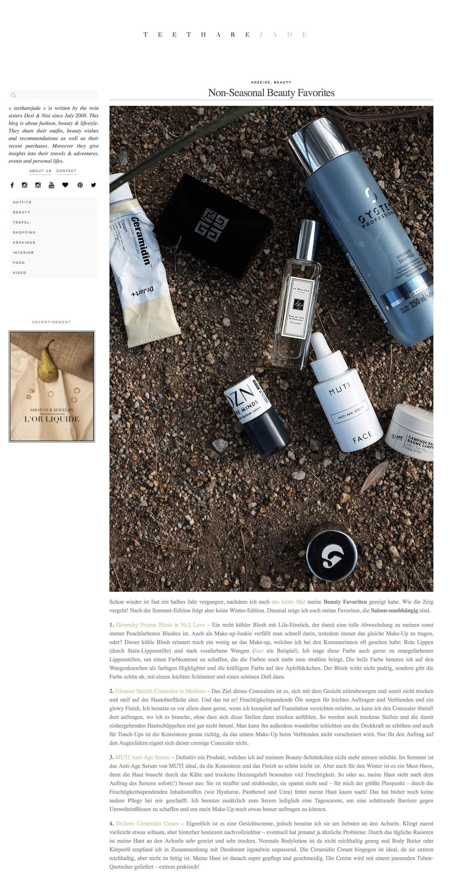Beautyblog Beautyblogger BARE MINDS Elina Neumann_teetharejade.com_22.11.2017