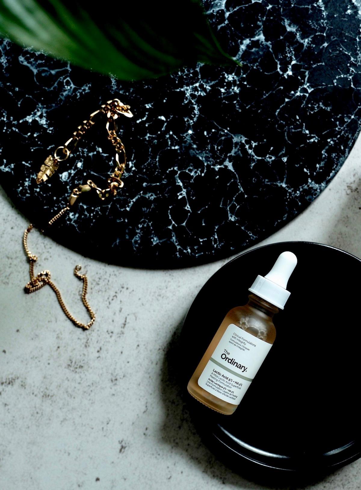 Beautyblog Beautyblogger BARE MINDS Elina Neumann SOS Pickel Peeling The Ordinary Lactic Acid 2