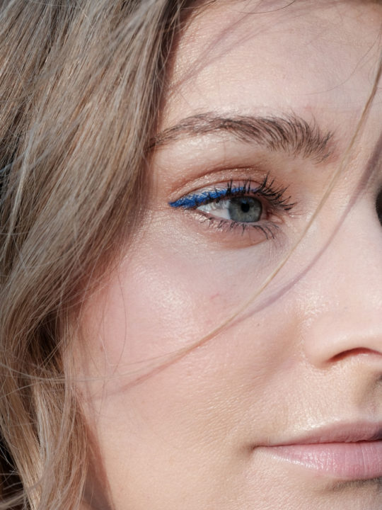 Beautyblog Bare Minds Beauty Tredns 2018 Blauer Lidstrich