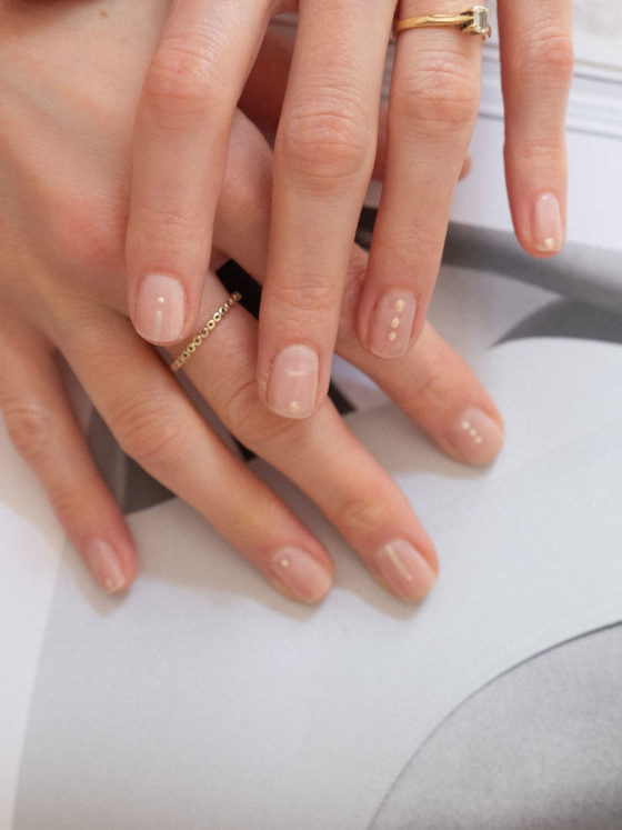 Beautyblog The Royal Wedding Nail Design dezent