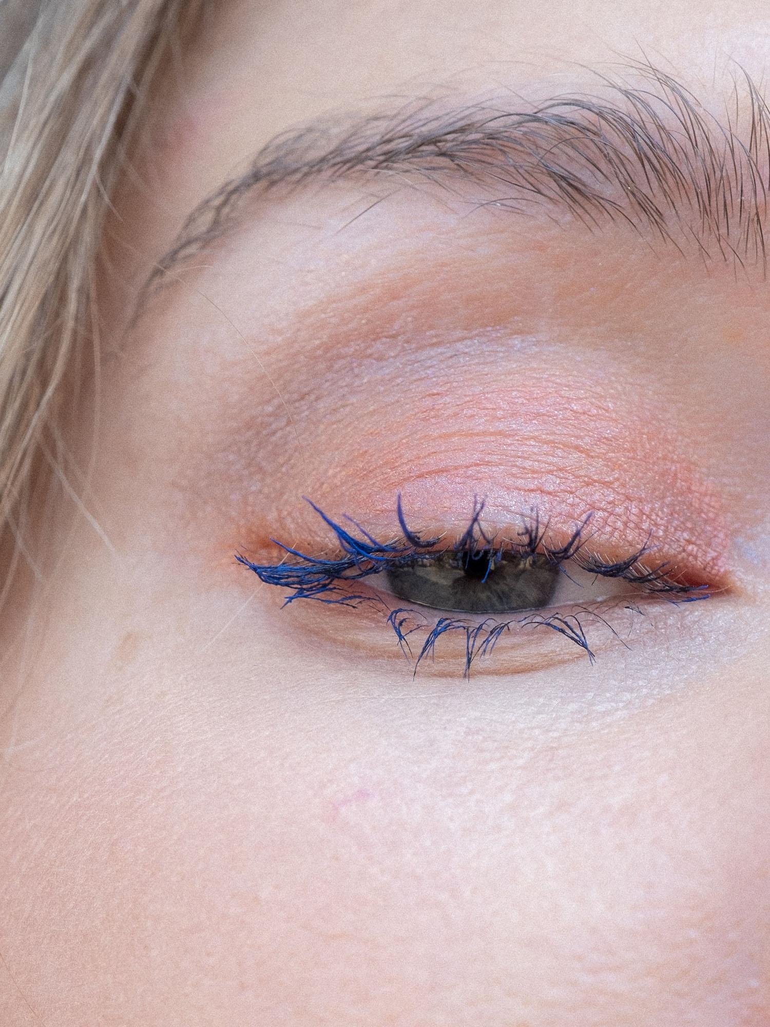 Beautyblog Blaue Mascara