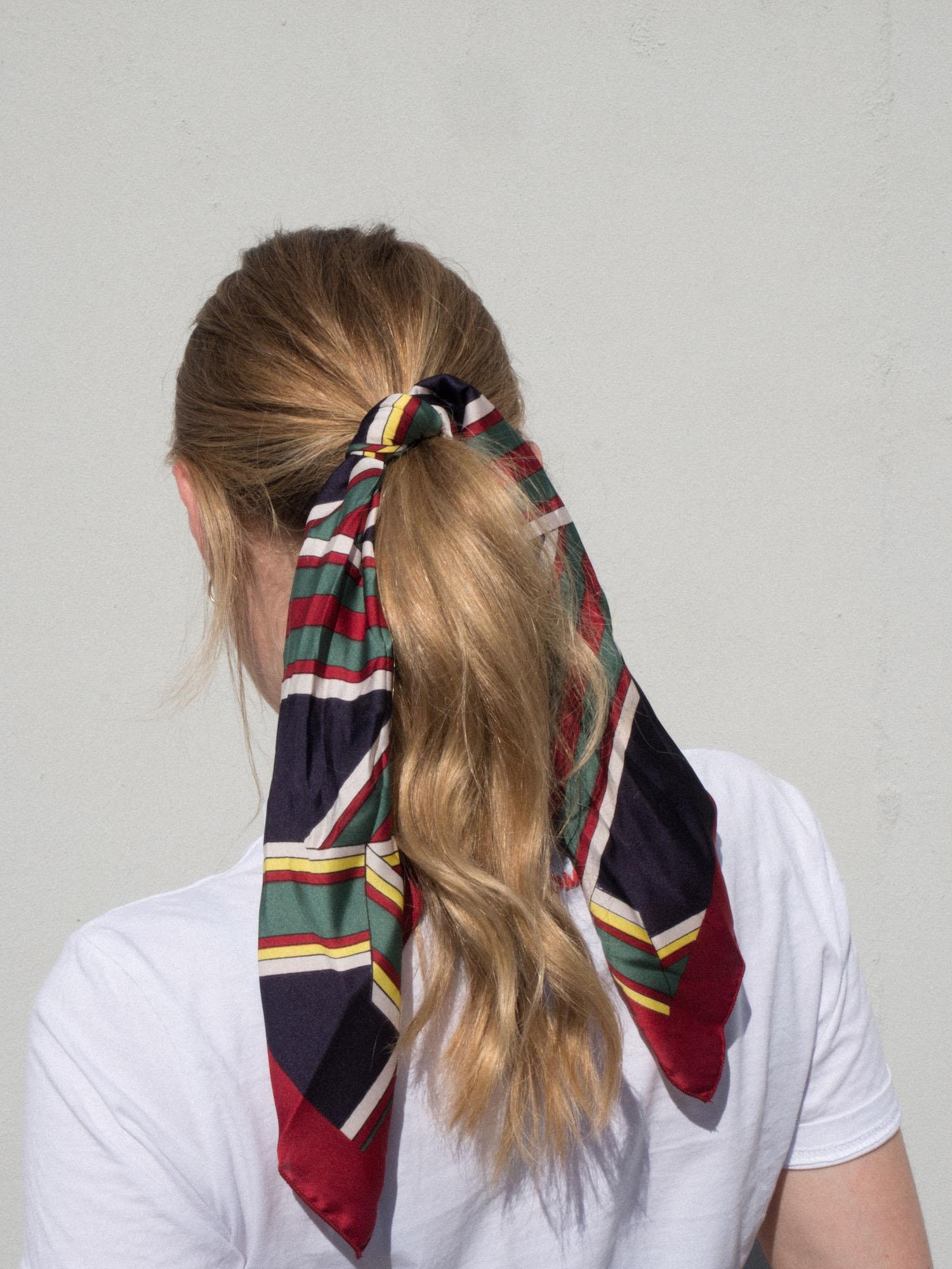 Beautyblog Haartrend 2018 Tücher