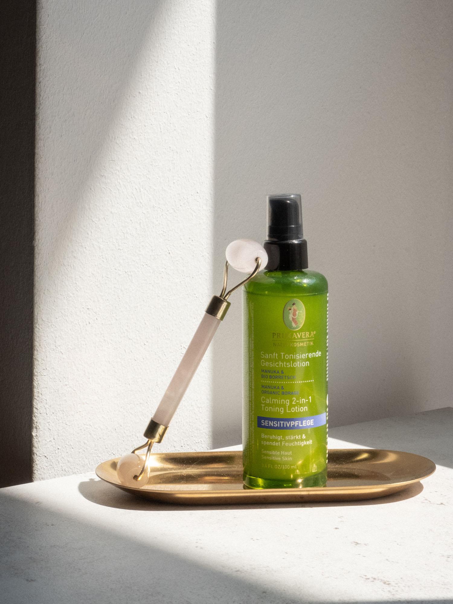 Beautyblog Review Primavera für sensible Haut Sanfte Tonisierende Gesichstlotion