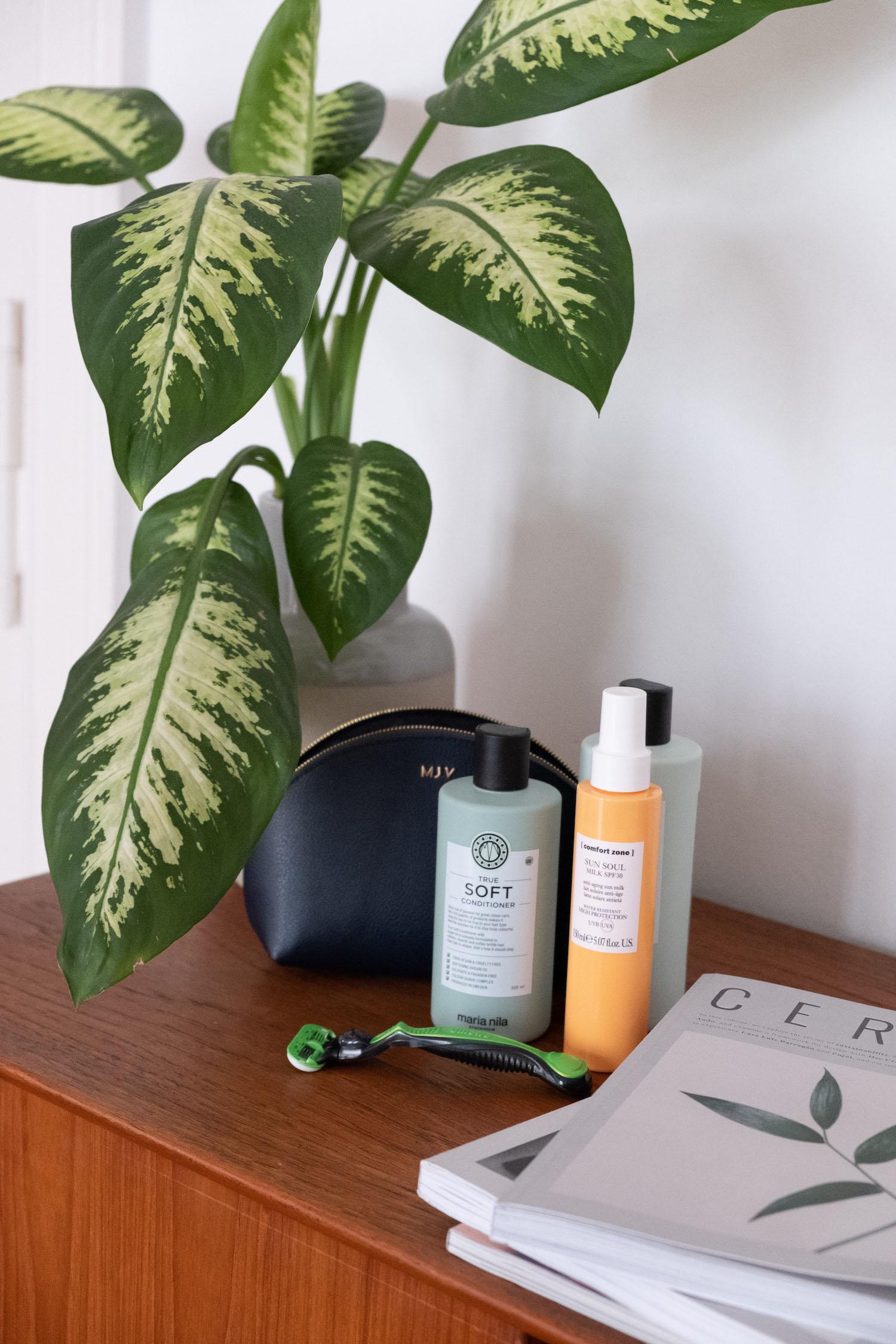 Beautyblog effektives Kofferpacken Sonnenpflege für den Körper
