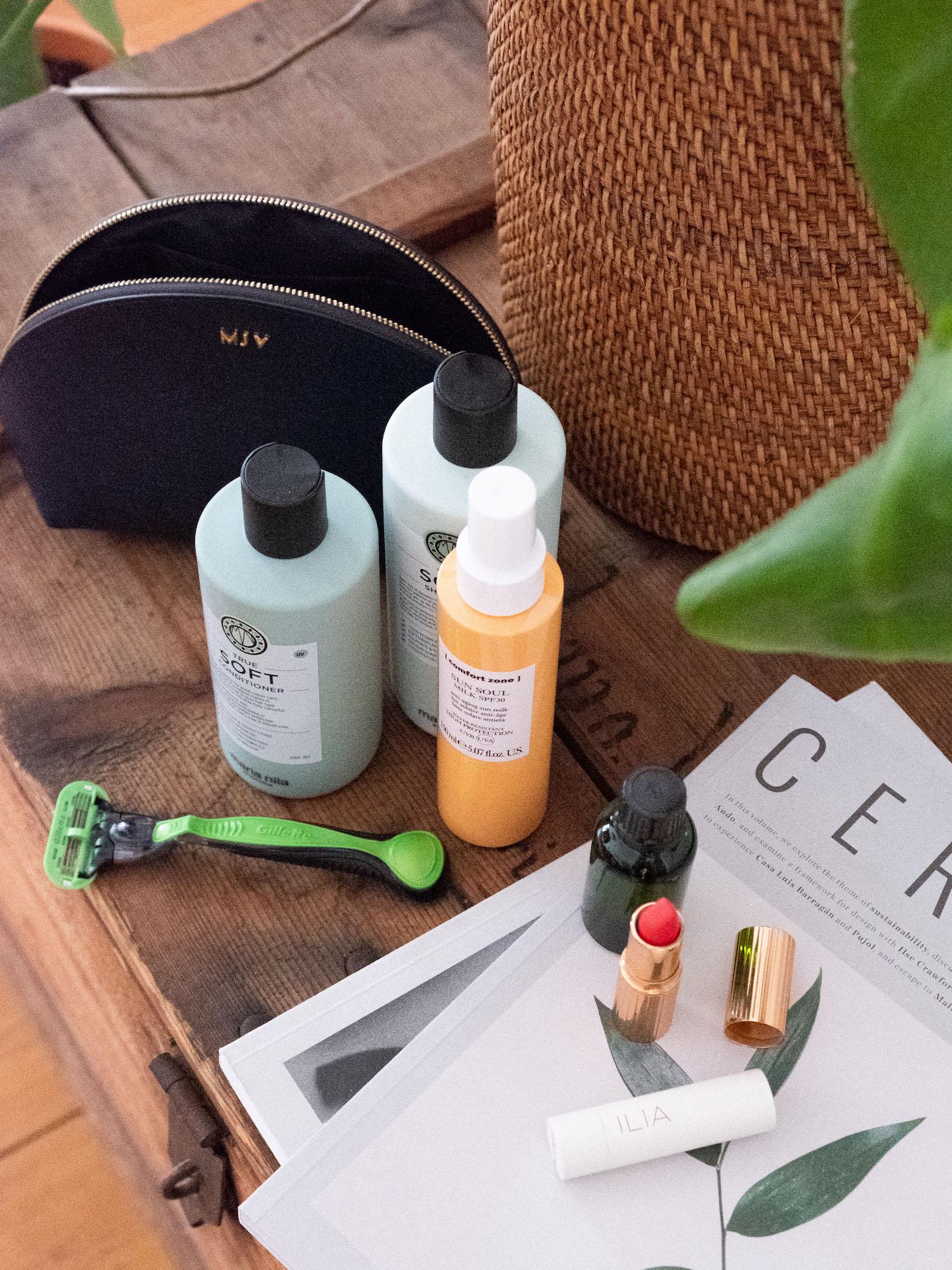 Beautyblog effektives Kofferpacken