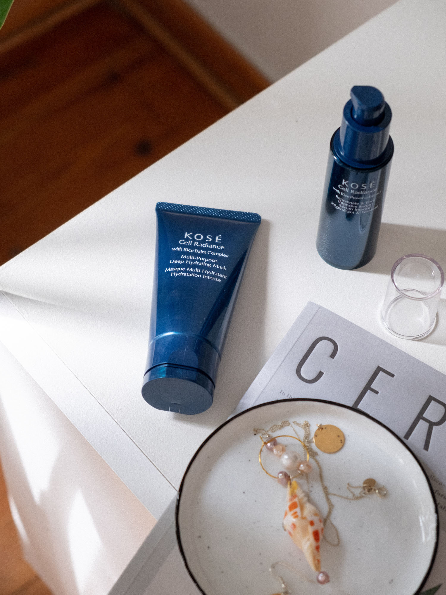 Beautyblog_ Schönheitsgeheimnisse aus Japan Kose Cell Radiance Multi Purpose Deep Hydration Mask