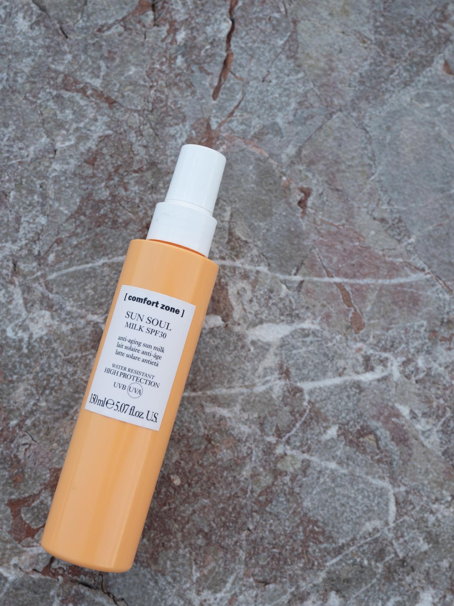 Beautyblog Sonnenpflege für unreine Haut am Körper comfort zone