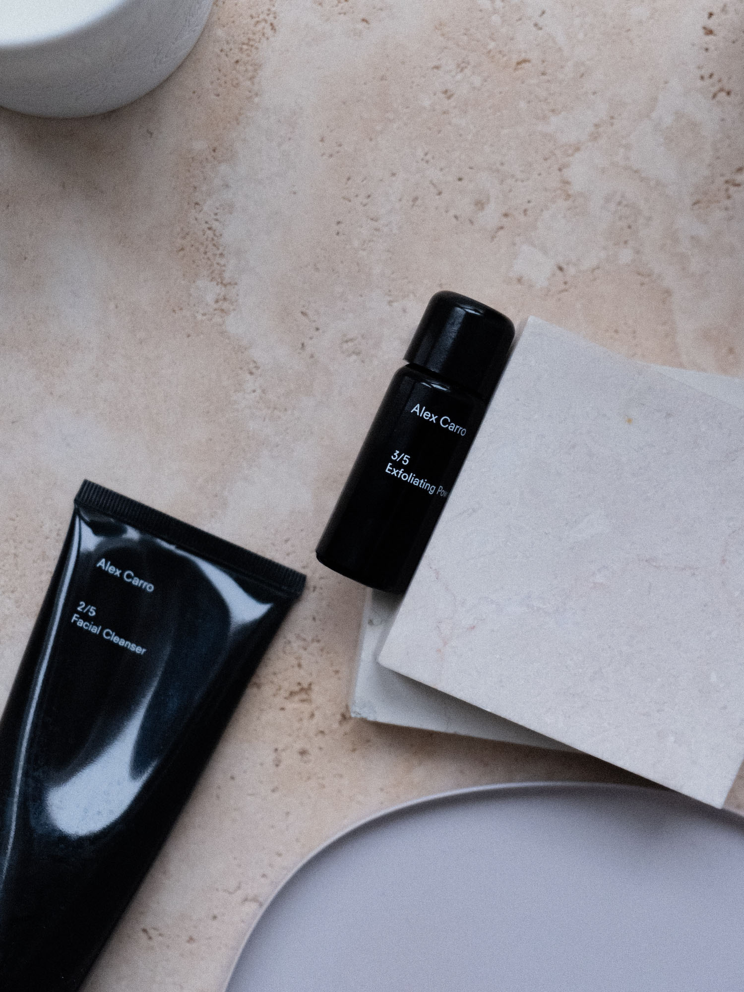Beautyblog Review Alex Carro Exfoliating Powder