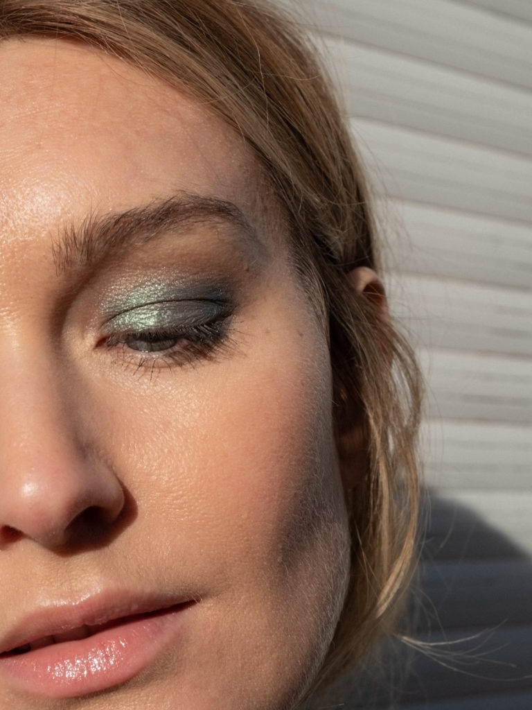 Beautyblog Bare Minds Augen-Make-up grün