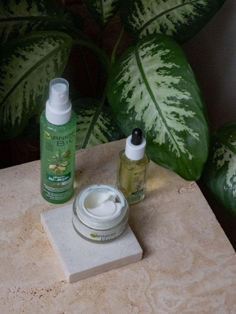 Beautyblog Bare Minds biozertifizierte Naturkosmetik Garnier