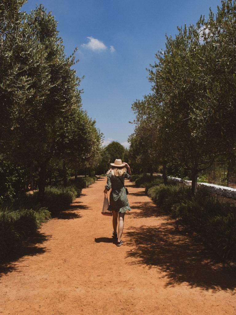 Beautyblog Südafrika Reise Weinfarm Babylonstoren Garten