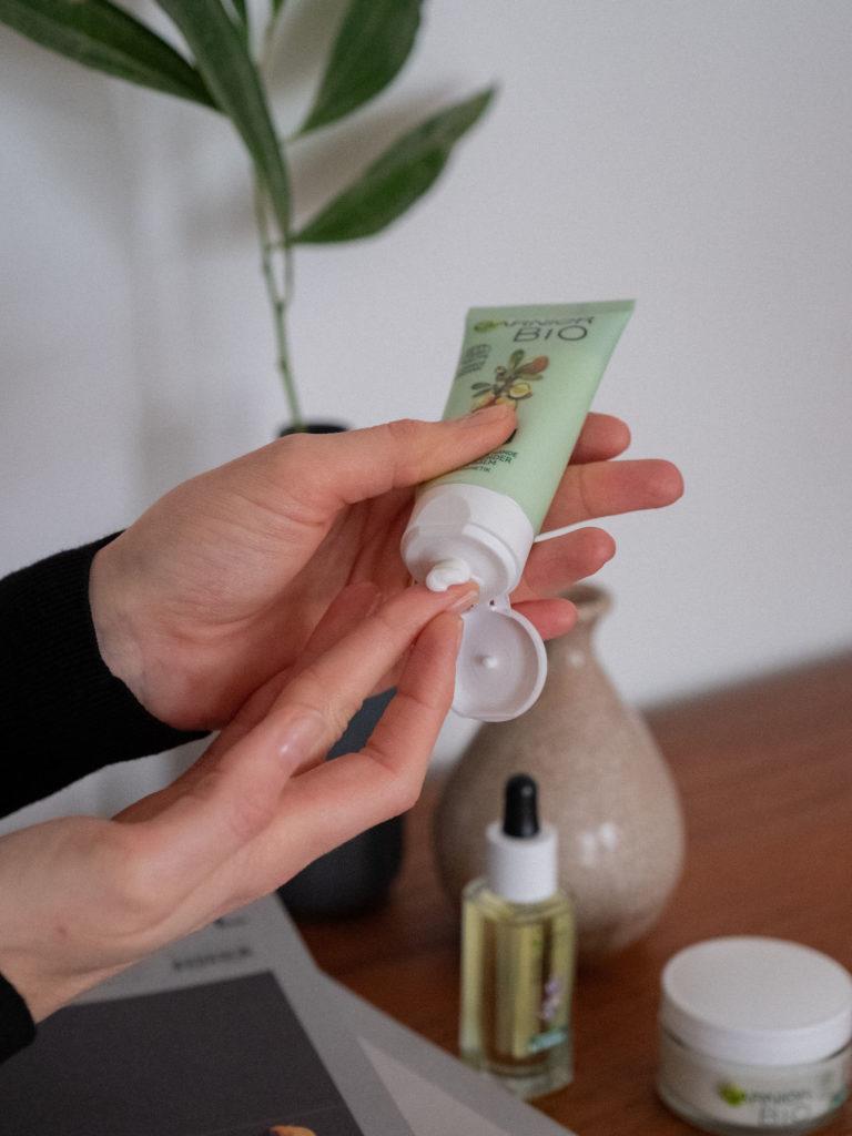 Beautyblog biozertifizierte Naturkosmetik Garnier Bio Argan Öl
