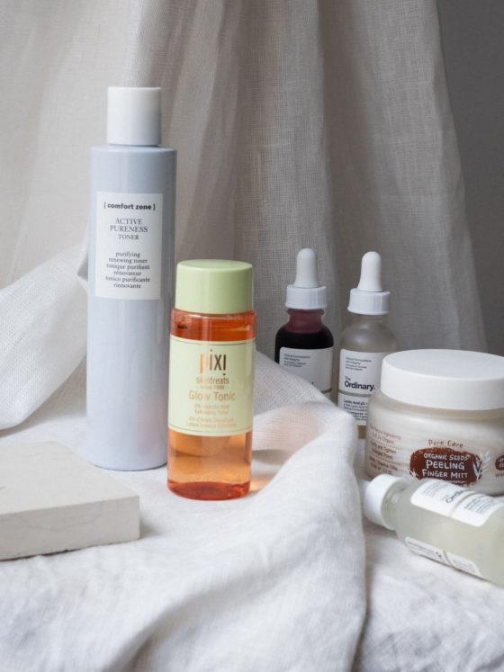 Beautyblog Bare Minds Enzym Peelings Säuren für reine Haut