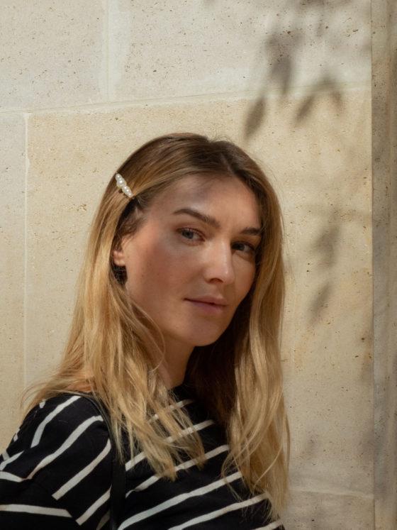 Beautyblog Bare Minds Trend perlenbesetzte Haarspange
