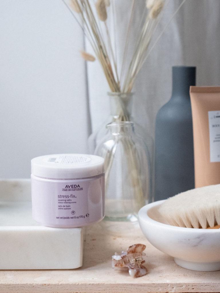Beautyblog Body Care Stress-fix soaking salts Aveda