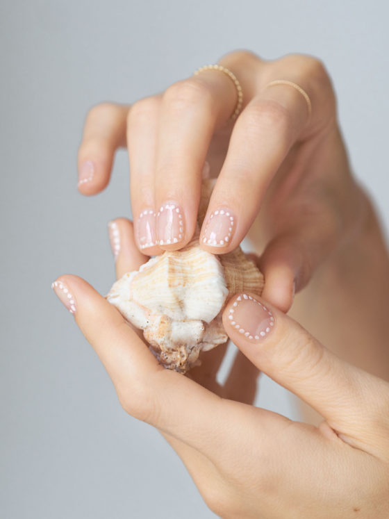 Beautyblog Bare Minds Wedding Nail Art 3