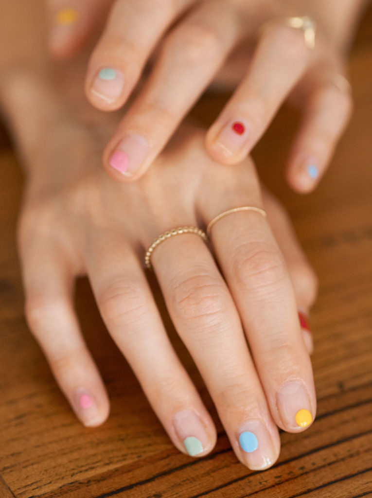 Beautyblog Bare Minds Multi Colored Nail Art 5