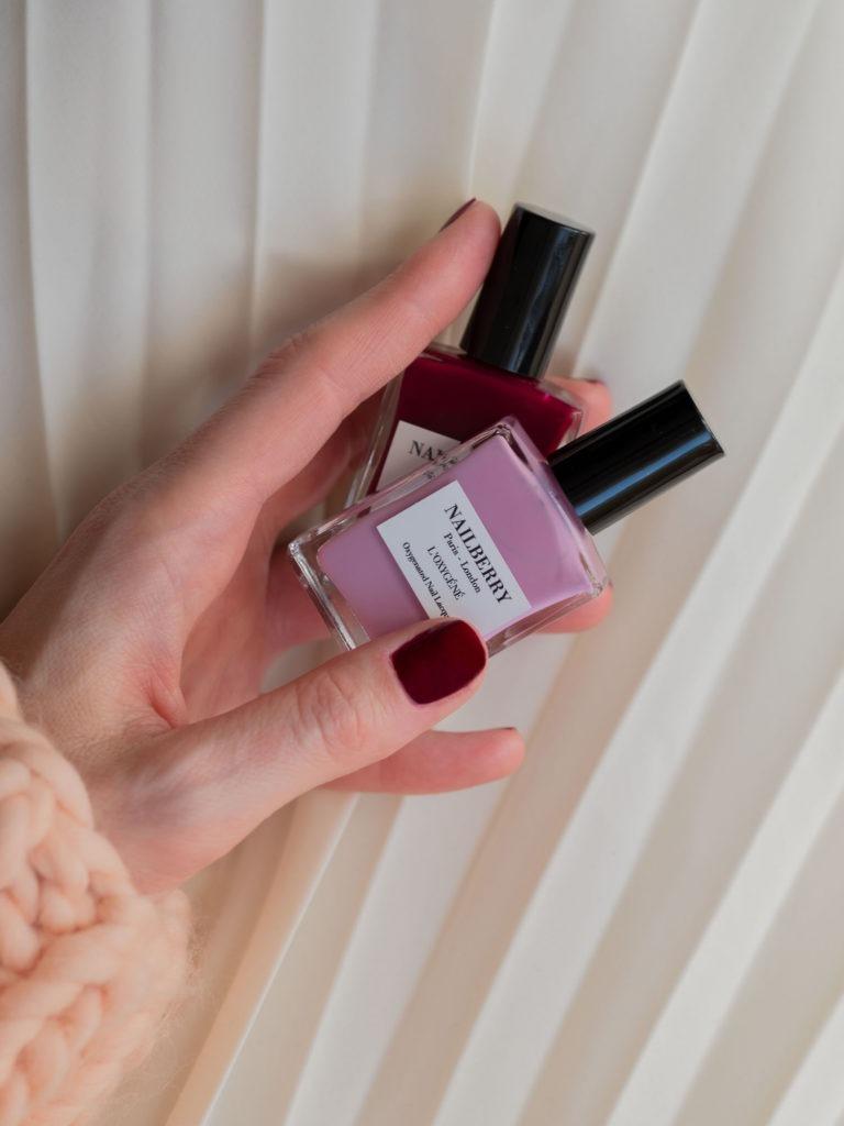 Beautyblog Bareminds Klassisch dunkelrote Nägel 3
