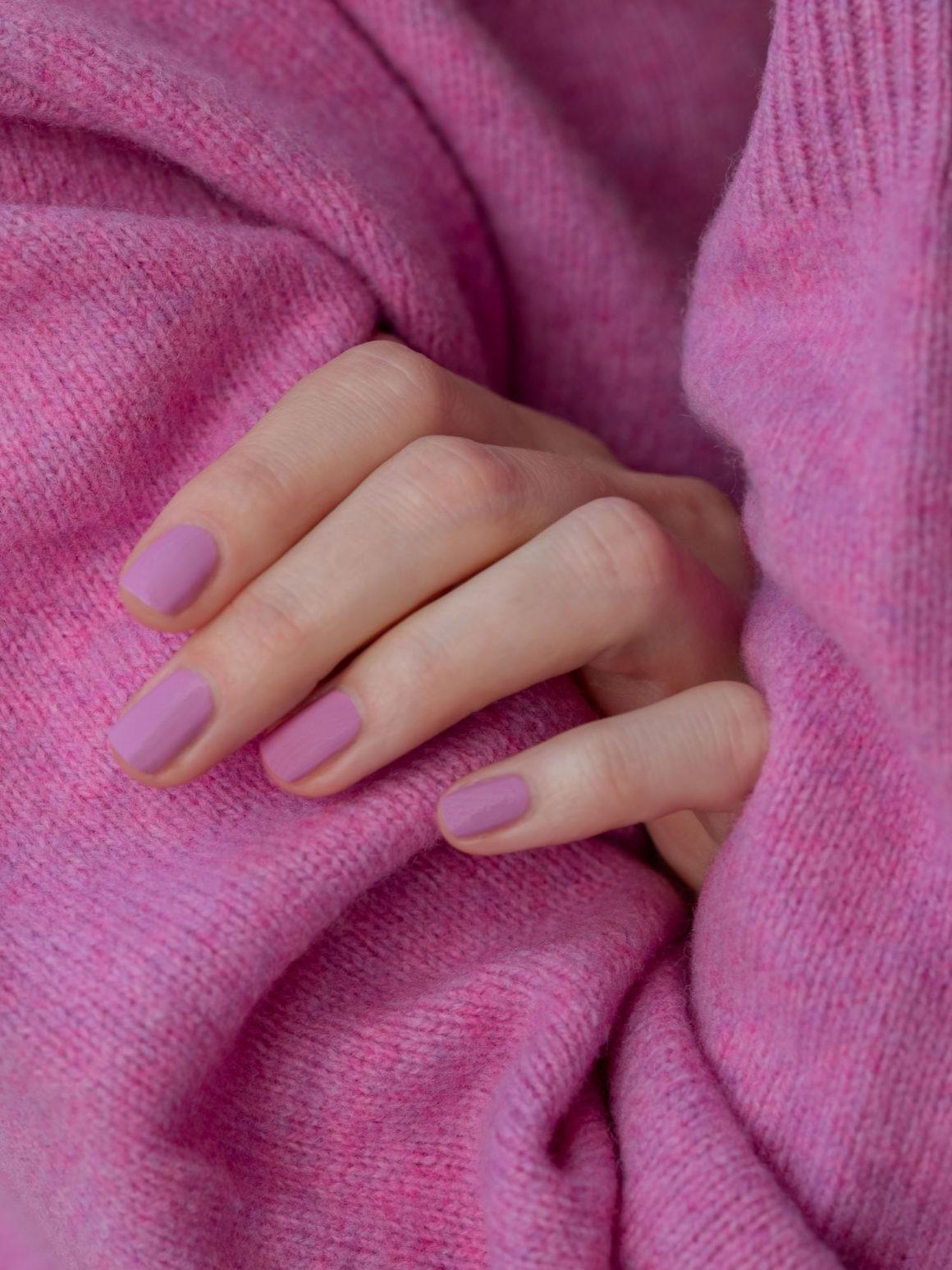 Beautyblog Bareminds Klassisch pinke Nägel 3