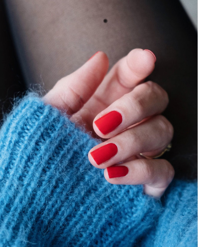 Beautyblog Bareminds Klassisch rote Nägel