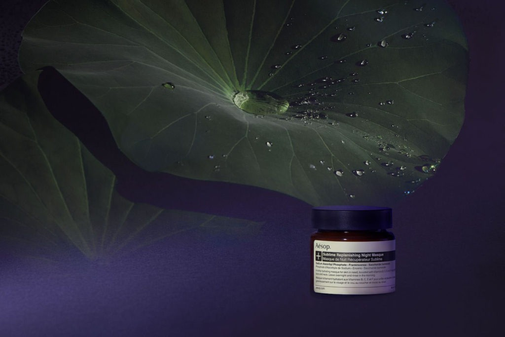 Beautyblog Bare Minds Aesop Sublime Replenishing Night Masque Large JPEG-Sublime Campaign Image 2