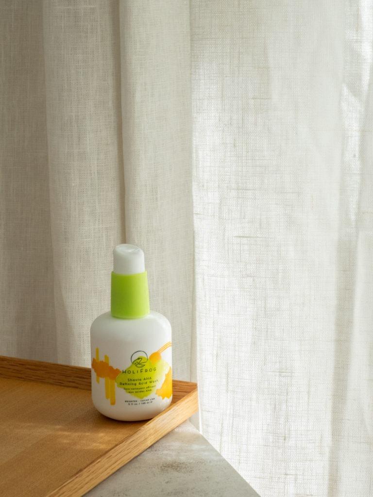 Beautyblog Bareminds Next Level Natural Beauty Holifrog Shasta AHA Refining Acid Wash 2