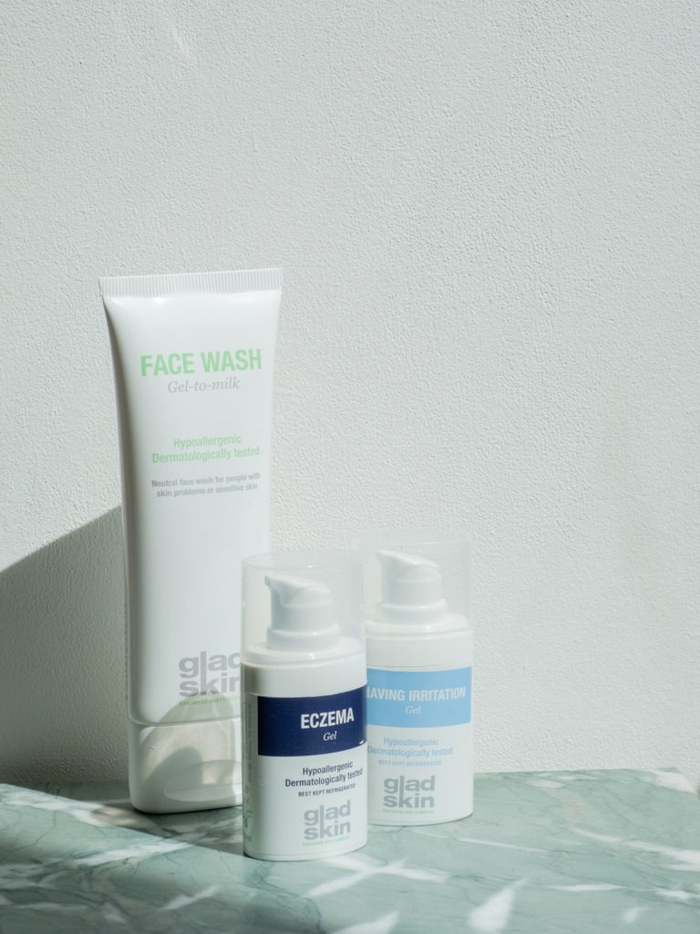 Beautyblog Bareminds gesundes Mikrobiom Gladskin Rasurbrand