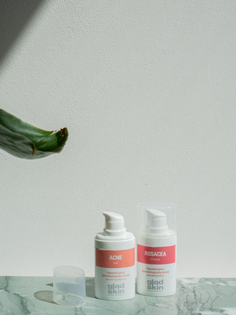 Beautyblog Bareminds gesundes Mikrobiom Gladskin Rötungen und Rosacea