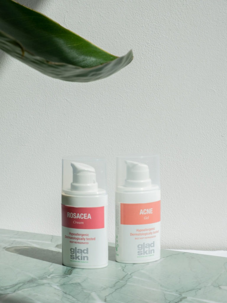 Beautyblog Bareminds gesundes Mikrobiom Gladskin undreine Haut