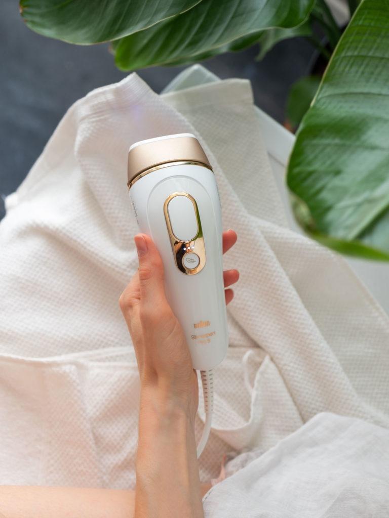 Braun Silk-expert Pro 5 IPL dauerhafte Haarentfernung zuhause 4