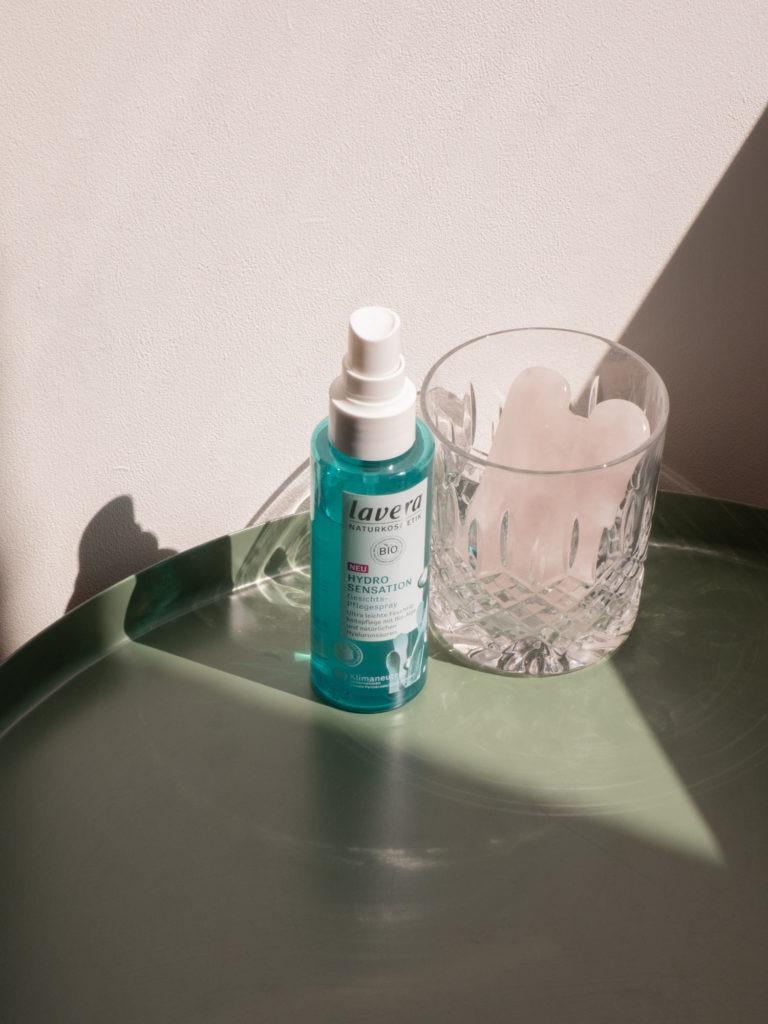 Beautyblog BaremMinds Bio Naturkosmetik lavera Hydro Sensation Gesichtspflegespray 1