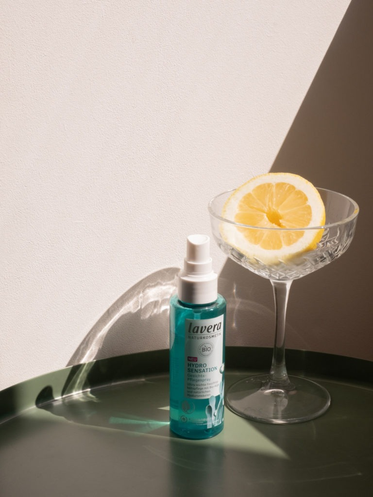 Beautyblog BaremMinds Bio Naturkosmetik lavera Hydro Sensation Gesichtspflegespray 2