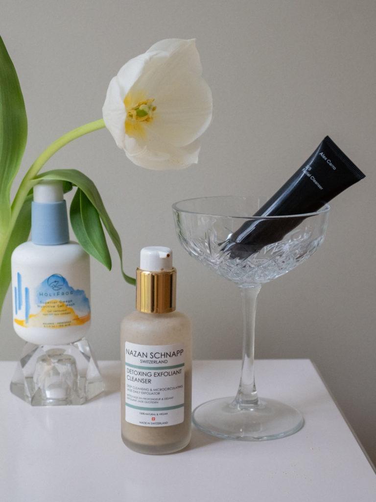 Beautyblog BareMinds.de Meine Gesichtsreiniger Nazan Schnapp Detoxing Exfoliate Cleanser 3