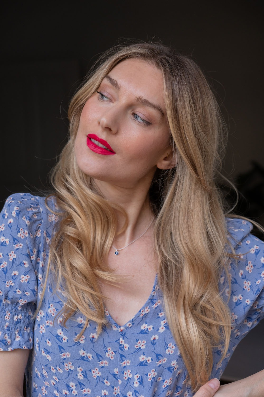 Beautyblog BareMinds Lippenstift Naturkosmetik Pink
