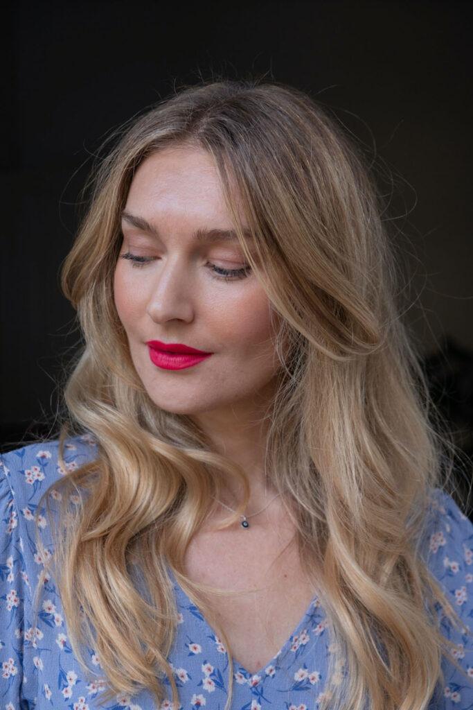 Beautyblog BareMinds pinker Lippenstift Naturkosmetik